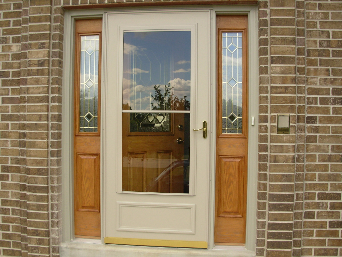 Staining of Fiberglass Doors
